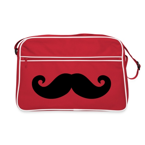Moustache Shoulder Bag - Retro Bag