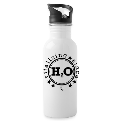 H2O - Vitalizing since t0 - Trinkflasche