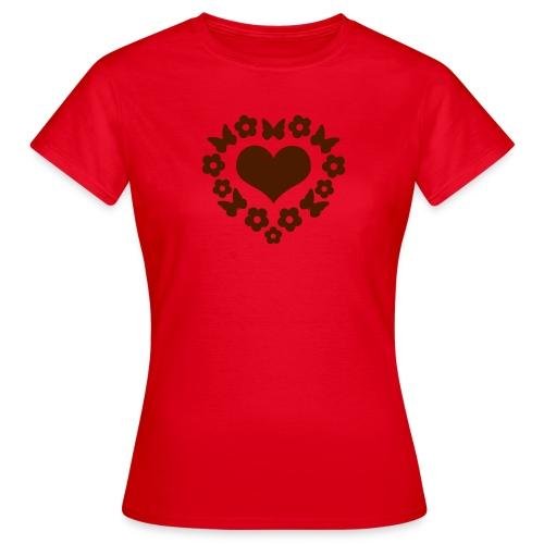 Herzschild - Frauen T-Shirt