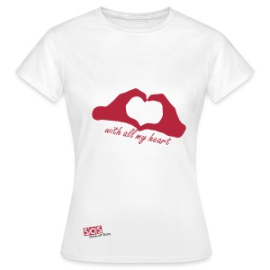 With all my heart - Women's T-Shirt