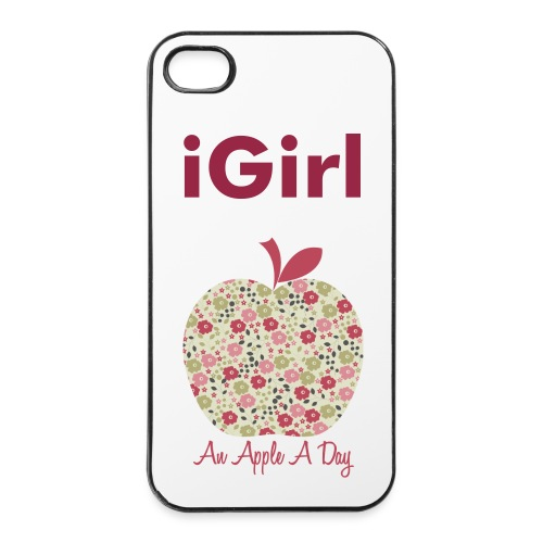 iGirl Case 4 iPhone - iPhone 4/4s Hard Case