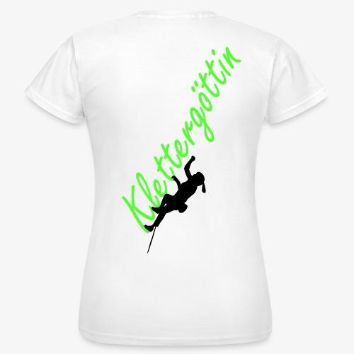 Klettergöttin (women) - Frauen T-Shirt
