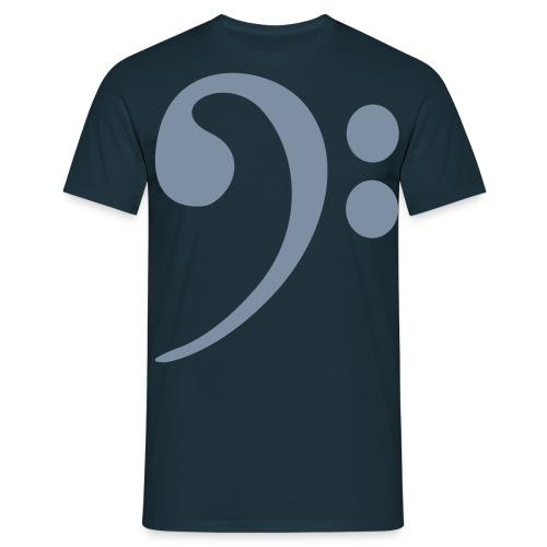 BASS CLEF A - Men's T-Shirt