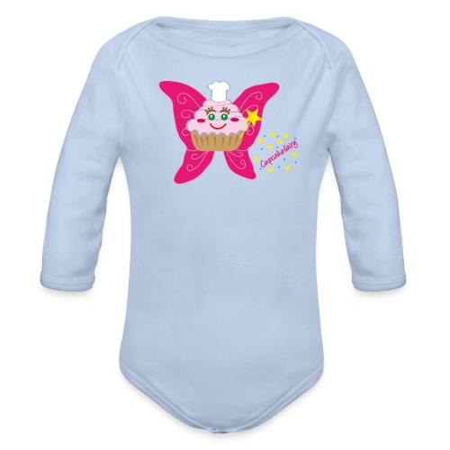 Cupcakefairy - Baby Bio-Langarm-Body