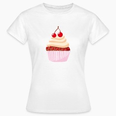 T-Shirt with cupcake