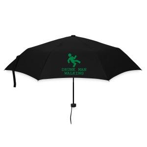 Umbrella (small) - drinking,driving,drunk,joke,man,pub,small,stagger,umbrella,walking