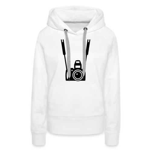 Photographie - Sweat-shirt à capuche Premium pour femmes