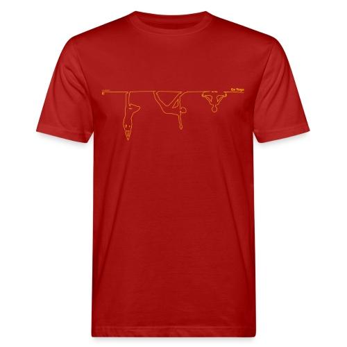 goyoga herrenleiberl verkehrt - Männer Bio-T-Shirt