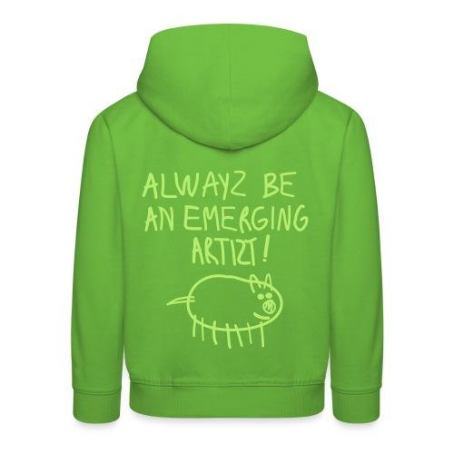 Emerging Artizt - Felpa con cappuccio Premium per bambini