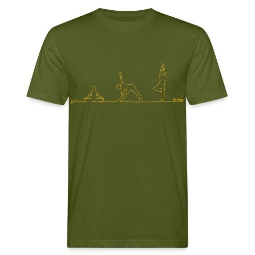 goyoga herrenleiberl - Männer Bio-T-Shirt
