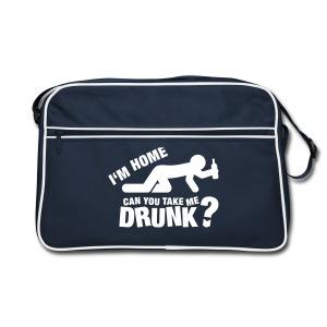 Retro Bag - bag,drinking,fun,gift,gym,joke,mens,present,pub,retro