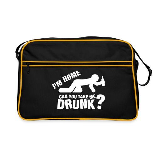 Retro Bag - retro,pub,present,mens,joke,gym,gift,fun,drinking,bag