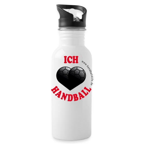 Flasche I love Handball - Trinkflasche
