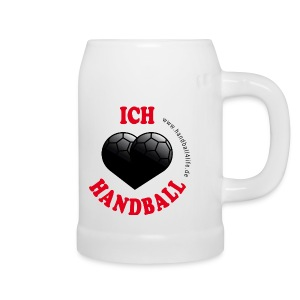 Krug I love Handball - Bierkrug