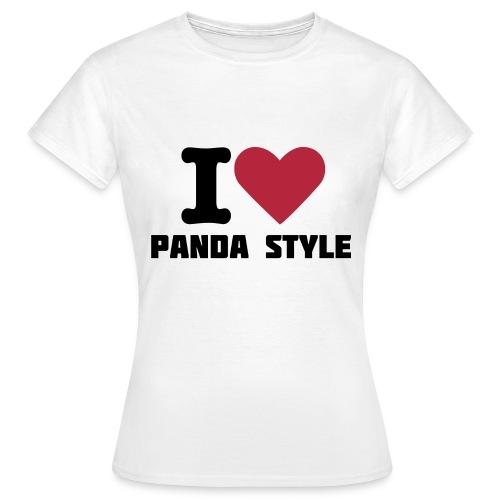 I  - Dame-T-shirt