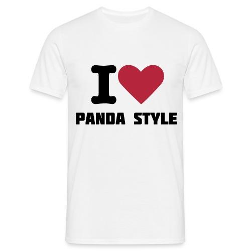 I  - Herre-T-shirt