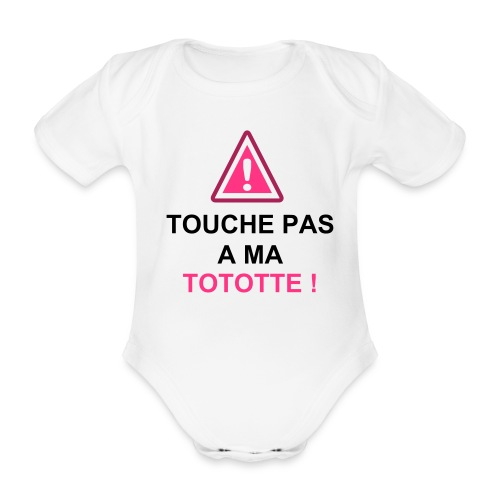 gilles girl's and boy's - Body bébé bio manches courtes