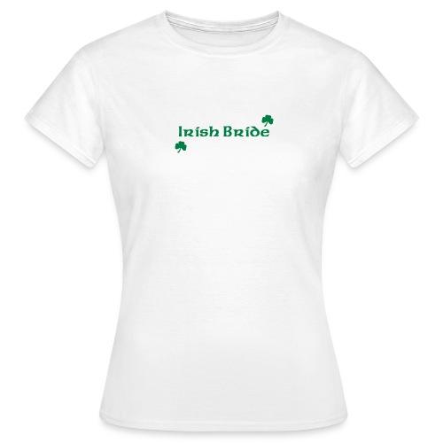 Irish Bride - Women's T-Shirt