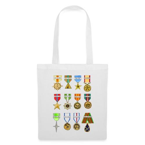 Shiny Shiny Medals Tote Bag - Tote Bag