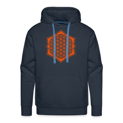Flower of Life - Men's Premium Hoodie