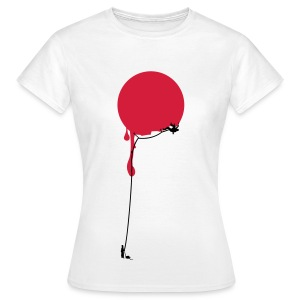 Rotpunkt Klettern - Japan? (Flexdruck) - Frauen T-Shirt
