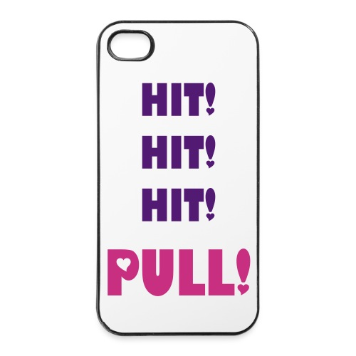 Hit Hit Hit Iphone 4/4s case - iPhone 4/4s Hard Case