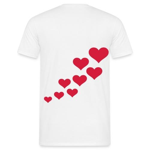 Hearts - Mannen T-shirt