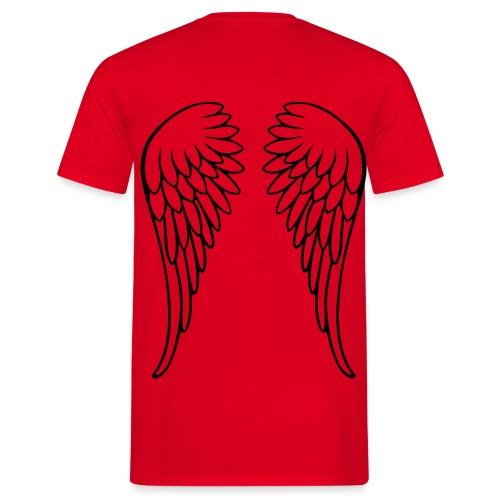 Angel Wings - Mannen T-shirt