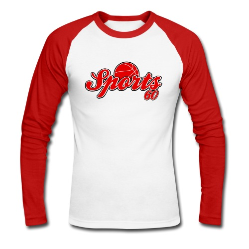 T shirt homme sports 60 - T-shirt baseball manches longues Homme