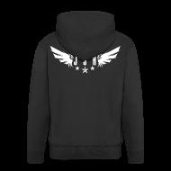 Hoodies & Sweatshirts ~ Men's Premium Hooded Jacket ~ JSH Logo #1-w