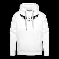 Hoodies & Sweatshirts ~ Men's Premium Hoodie ~ JSH Logo #1-b