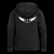 Hoodies & Sweatshirts ~ Women's Premium Hooded Jacket ~ JSH Logo #1-w