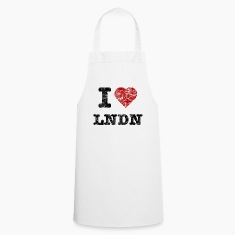 """I Love LoNDoN"" vintage dark  Aprons"
