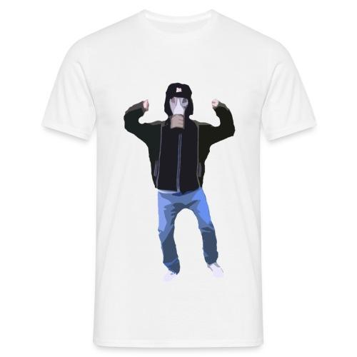 Gasmaskedreng t-shirt (Mand) - Herre-T-shirt