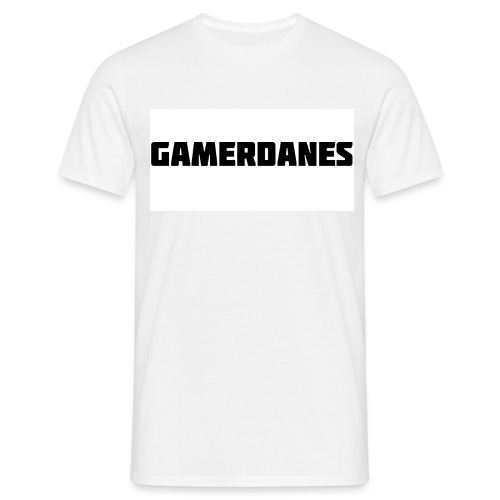 GamerDanes t-shirt - v1 (Mand) - Herre-T-shirt