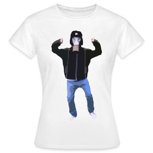Gasmaskedreng t-shirt (Dame) - Dame-T-shirt