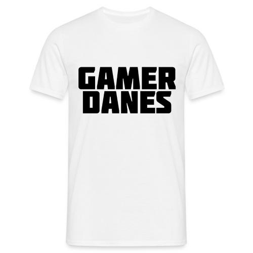 GamerDanes t-shirt - v2 (Mand) - Herre-T-shirt