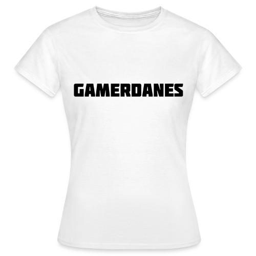 GamerDanes t-shirt - v1 (Dame) - Dame-T-shirt
