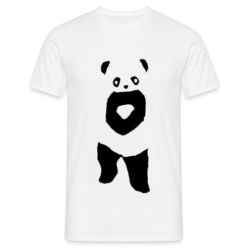 Panda t-shirt - Uden text (Mand) - Herre-T-shirt