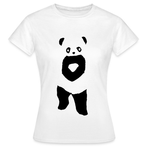 Panda t-shirt - Uden text (Dame) - Dame-T-shirt