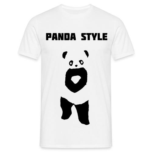 Panda t-shirt - Panda Style (Mand) - Herre-T-shirt