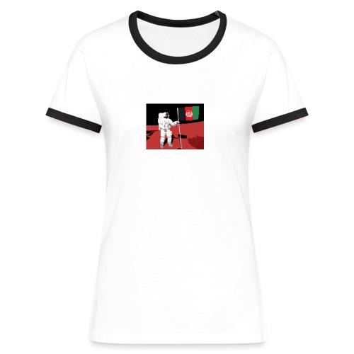 Afghanistan on Mars - Women's Ringer T-Shirt