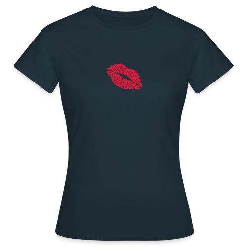 bacio cuore - Maglietta da donna