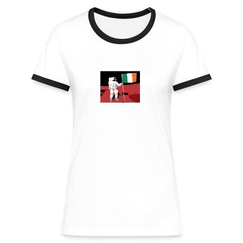 Ireland on Mars - Women's Ringer T-Shirt