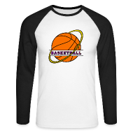 Manches longues ~ Tee shirt baseball manches longues Homme ~ T shirt homme basketball