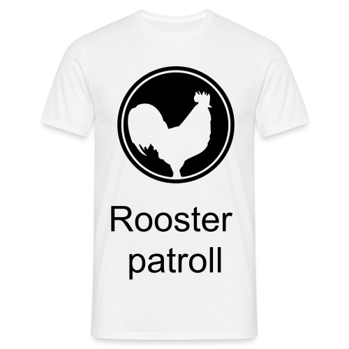 Rooster patroll t-shirt deluxe - T-shirt herr