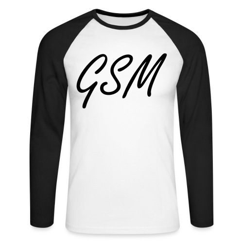 sweat capuche GSM - T-shirt baseball manches longues Homme