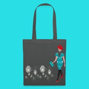 Summer Fashion Girl Tasche - Stoffbeutel