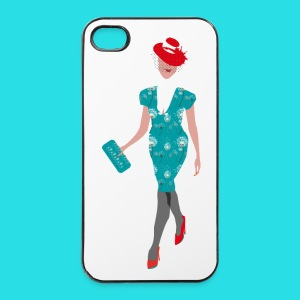 Summer Fashion Girl  - iPhone 4/4s Hard Case
