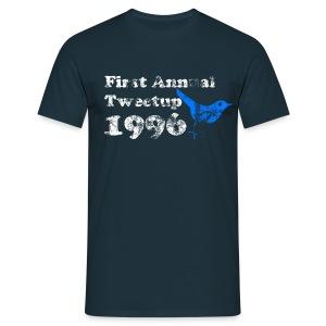 Firts Tweetup EVER - Mannen T-shirt